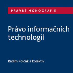 Publikace o právu informačních technologií