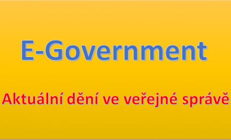 E-Government v letním semestru